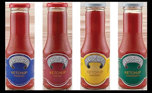 lubicz ketchupy
